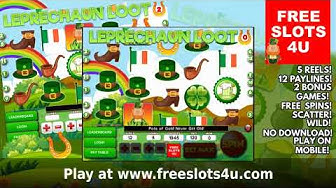 Free Leprechaun Loot Slot Machine by Free Slots 4U