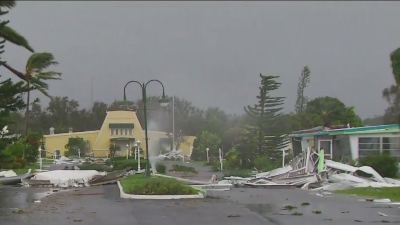 Heavy Damage At Mobile Home Park In Naples