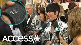 Diane Warren Reveals Oscars Good Luck Charm On Her Cast After Breaking Her Arm