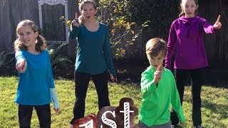 Learn English Numbers! 12 Days of Fitness with Sign Post Kids!