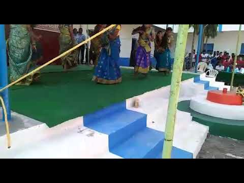 New Vision School Girnibavi ?? children's day celebrations performance by 9th&10th classes