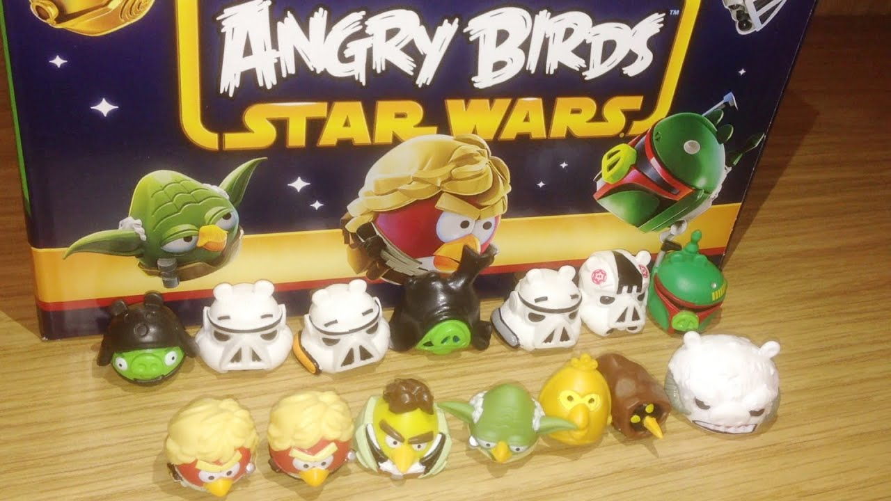 Review 021 Angry Birds Star Wars Series 2 Blind Bag Mini