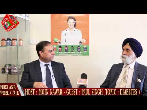 EURO ASIA WORLD  23.06.16 PAUL SINGH (DIABETES )