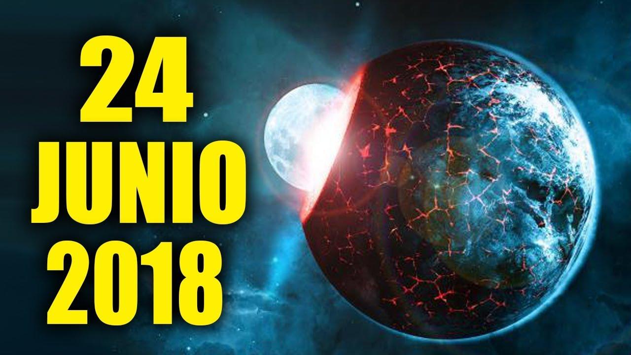 FIN DEL MUNDO 24 JUNIO del 2018 - ¿Qué Sucederá? - YouTube