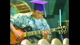 My performance of Joe Pass' version of Night and Day at my High School Graduation