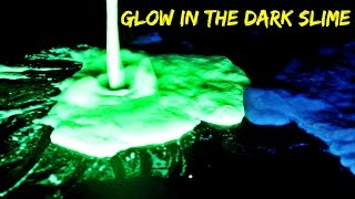 2 Ways to Make Glow in the Dark Slime