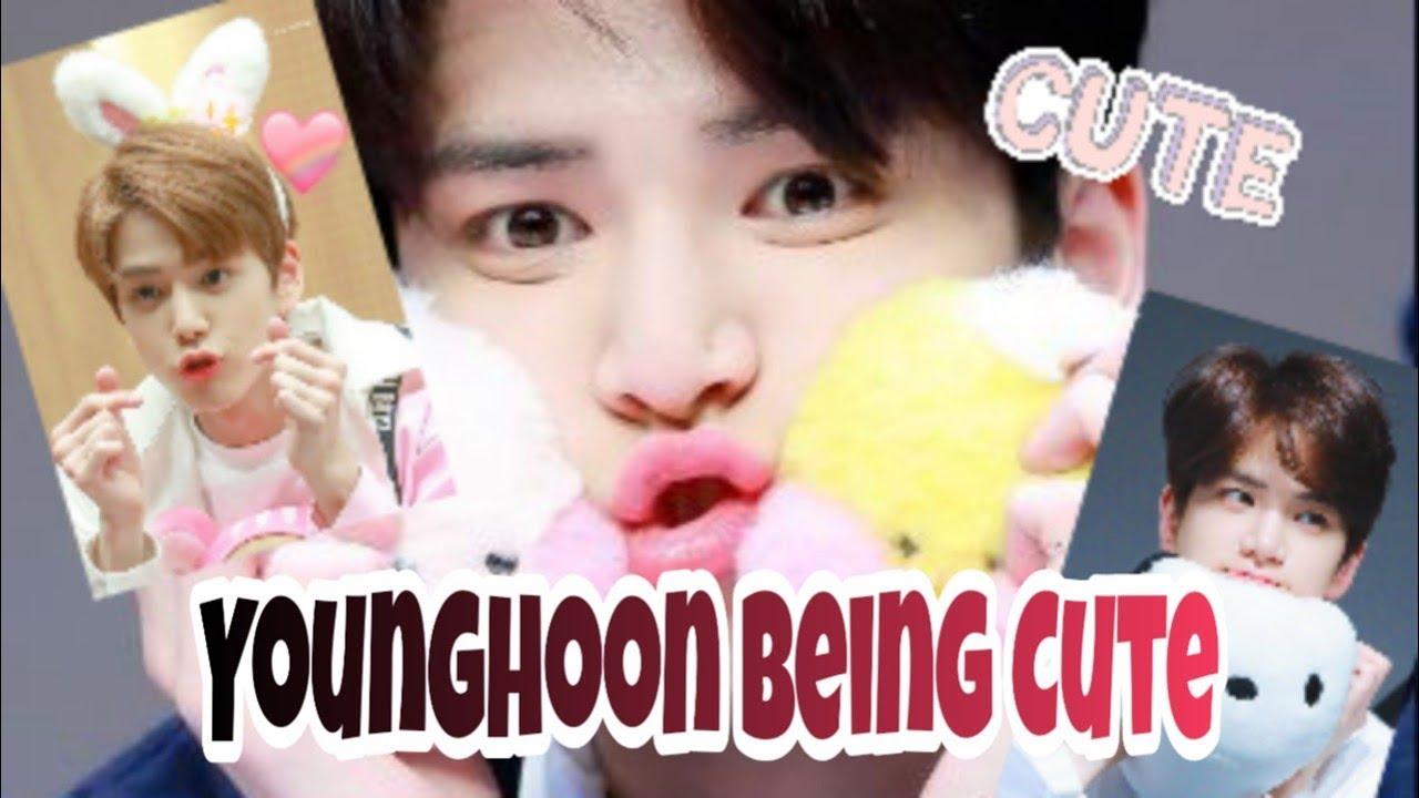Younghoon Being Cute Younghoon The Boyz Youtube
