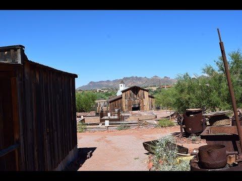 Exploring Superstition Mountain Museum.  Apache Junction, Arizona