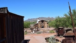 Exploring Superstition Mountain Museum.  Apache Junction, Arizona
