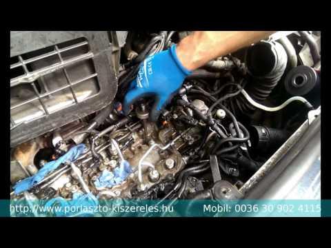Renault Trafic 2.0 DCI (M9R) Berohadt Porlasztó Kihúzás Célszerszámmal HD