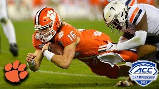 Trevor Lawrence Leads Clemson To Another ACC Title