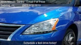 2014 Nissan Sentra 4DR SDN I4 CVT SR for sale in Sebring, FL