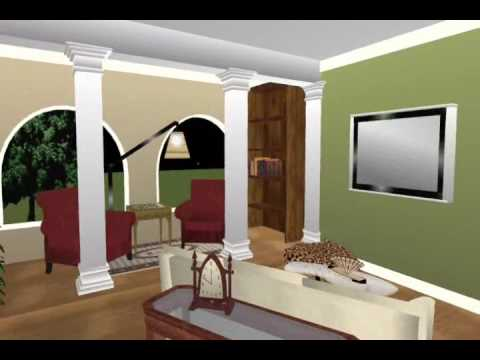 005 Interior Walk Through Using Punch Home Interior Software