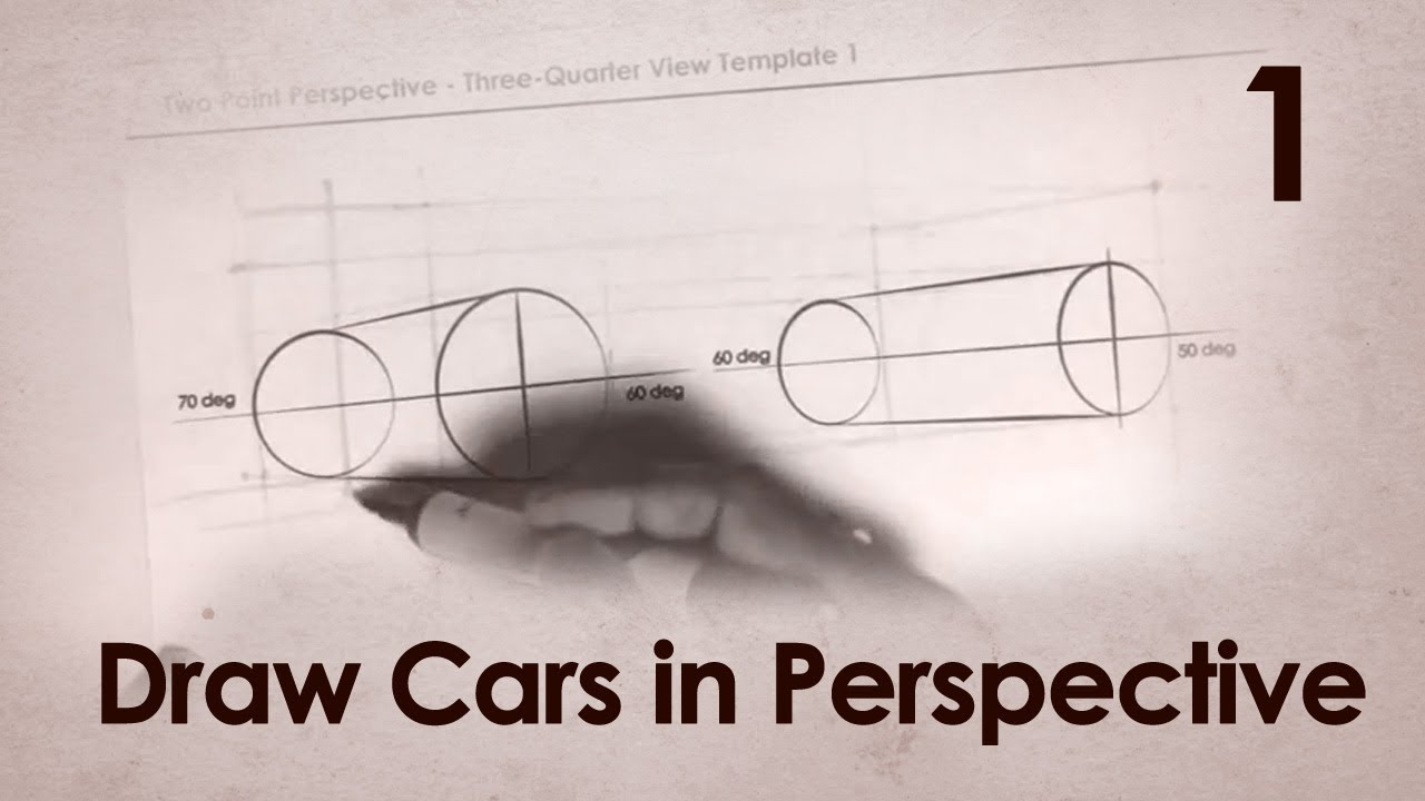 How to Draw Cars in Perspective Part 1 - YouTube