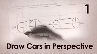 How to Draw Cars in Perspective Part 1