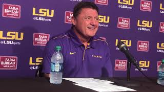 FULL Ed Orgeron press conference after LSU beat Mississippi State