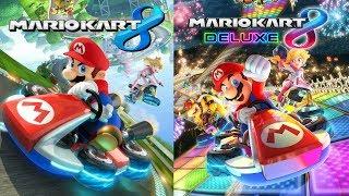 Mario Kart 8 Wii U, Then Mario Kart 8 Deluxe!