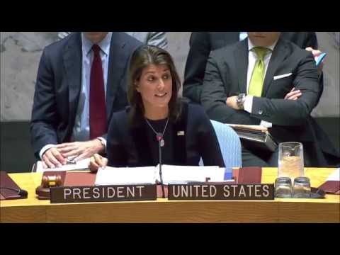 Security Council Meeting on North Korea Sanctions