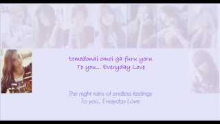 ???? SNSD-Everyday Love lyrics mp3 - Stafaband