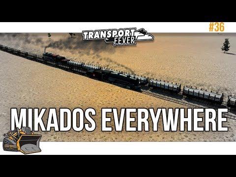 Invasion of Mikados | Transport Fever Metropolis #36