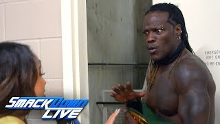 After a busy night where he lost and regained the 24/7 championship, r-truth is not sure how feels. get your 1st month of wwe network for free: http://wwe...