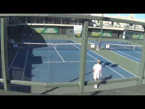 Nick Crystal (USC) vs Andre Goransson (CAL)   Battle of the Bay 2014 Men's Open Singles Finals