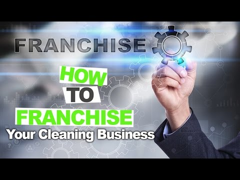 Discover the 5 steps to starting your cleaning company franchise and start your empire today!