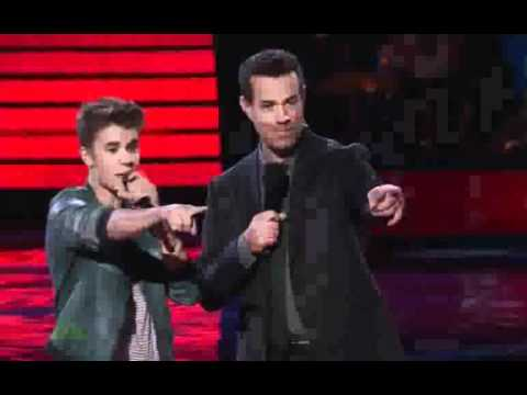 Justin Bieber On The Voice US (Believe big annoucement)