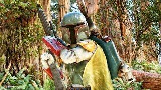 star wars battlefront gameplay boba fett terryfying endor forest