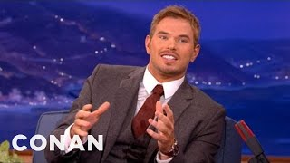 Kellan Lutz Has A Thing For Baby Clothes - CONAN on TBS