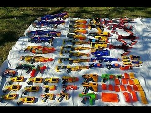 My Nerf Guns/Blasters are for SALE!!!!!!