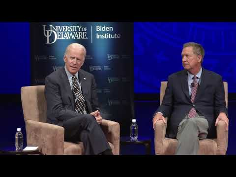 "National Agenda 2017: ""Bridging the Divides"" with Joe Biden and John Kasich"