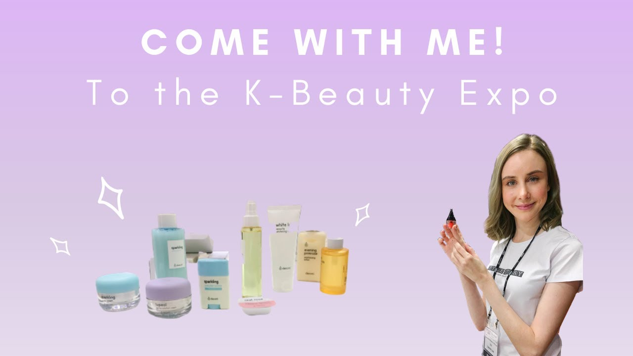 COME WITH ME TO THE K-BEAUTY EXPO!