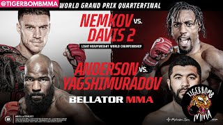 Bellator 257 - Nemkov vs Davis 2 Main Card Betting Predictions & Breakdown