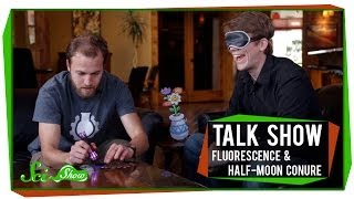 Talk Show: Henry Reich, Fluorescence, and a Half-moon Conure