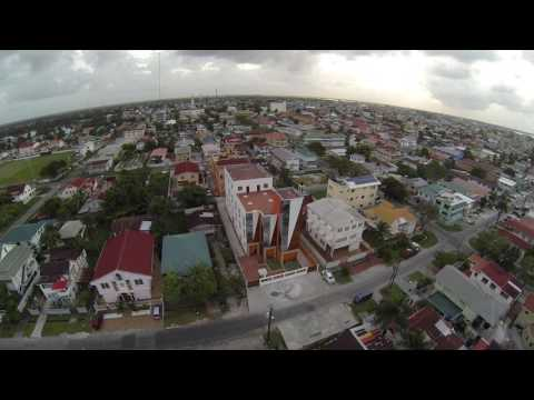 Queenstown & Georgetown seawall - afternoon flight beautiful  Guyana