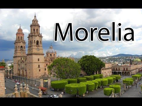 (1/2) Morelia Mexico Walk 2018 - Michoacán