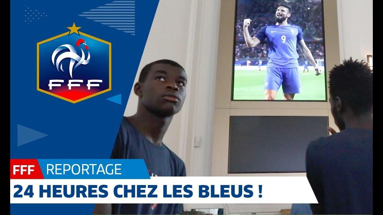 24 heures chez les Bleus pendant la Coupe du Monde !