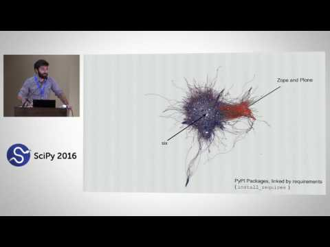 Computational Supply Chain Risk Management for Open Source Software | SciPy 2016 |Sebastian Benthall