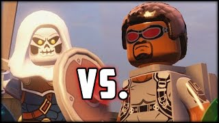 LEGO MARVEL AVENGERS - FALCON vs. TASKMASTER! FIGHT!