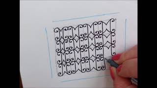 How to draw pattern Estee
