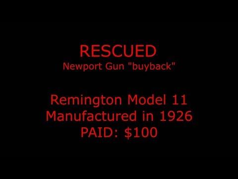 Rescued - 1926 Remington 11 Semiauto Shotgun - YT