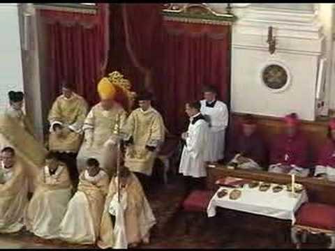 Lateinisches Pontifikalamt