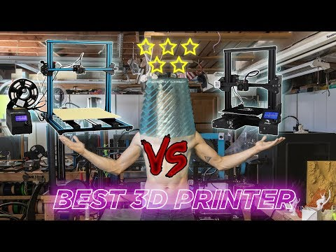 MEGAREVIEW // Ender 3, CR-10, CR-10S, CR-10S4, U20. Which is the Best 3D Printer for You?