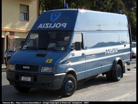 [Giro d'Italia 2014]Officina Mobile Polizia Stradale + Ultimi corridori- Highway Police special Unit