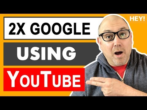 How To Rank 2X On Google Using YouTube