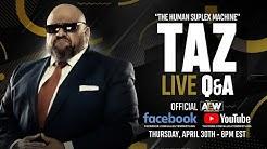 TAZ LIVE Q&A - THURSDAY, APRIL 30TH - 8/7C