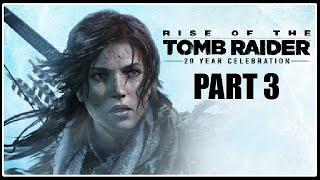 MÁM ZBRAŇ - Rise of the Tomb Raider PART 3 / 1080p 60fps /