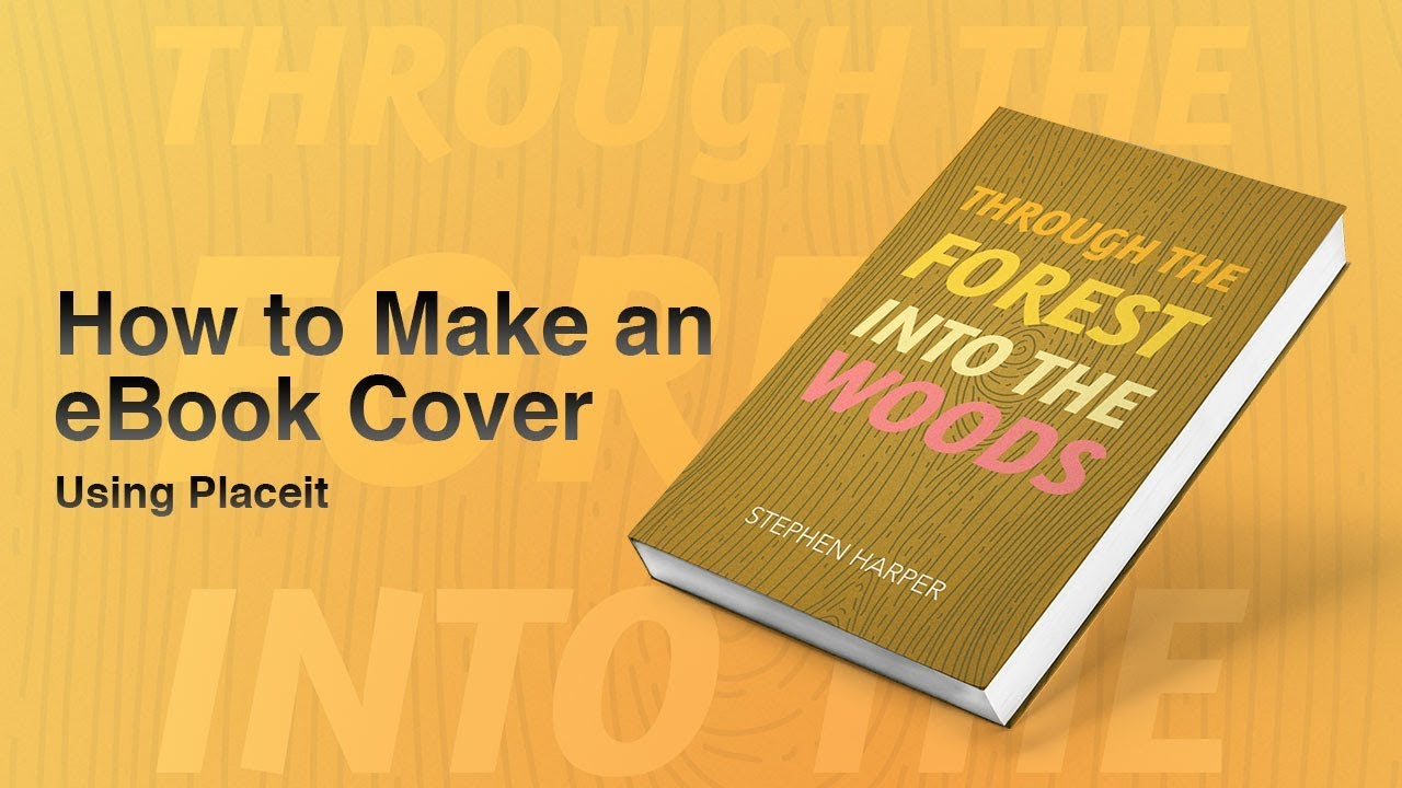 How to Make an eBook Cover - YouTube