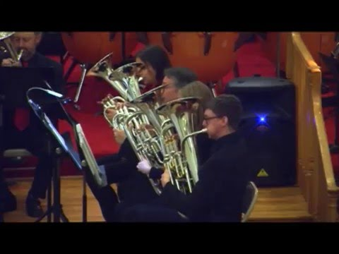 "Capital City Brass Band  ""Celebrate!"" concert December 18, 2015"